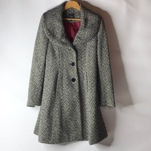 Express Women's Size M Black & White Tweed Jacket